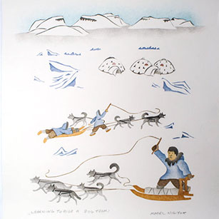 Buy Inuit Prints made in Ulukhaktok NWT